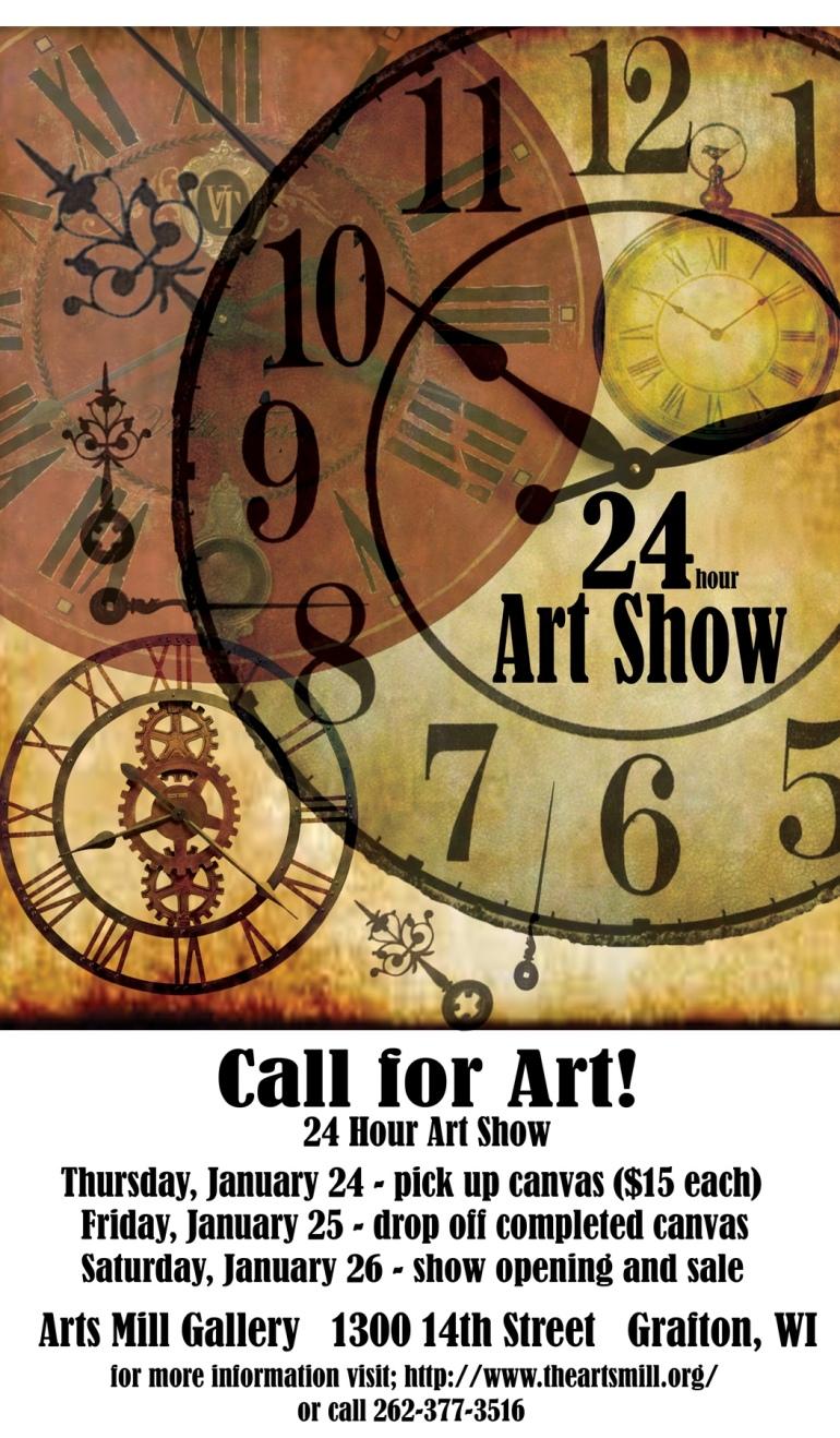 24 hr Art Show