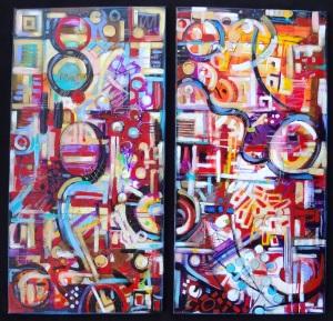 November Acrylic Series
